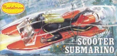 Scooter submarino